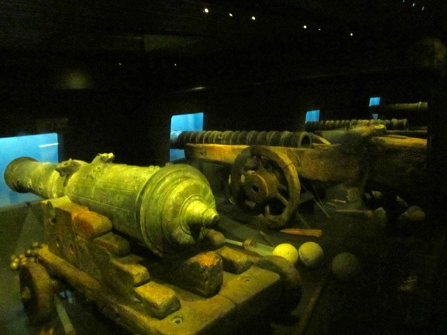 0280 Mary Rose Cannons