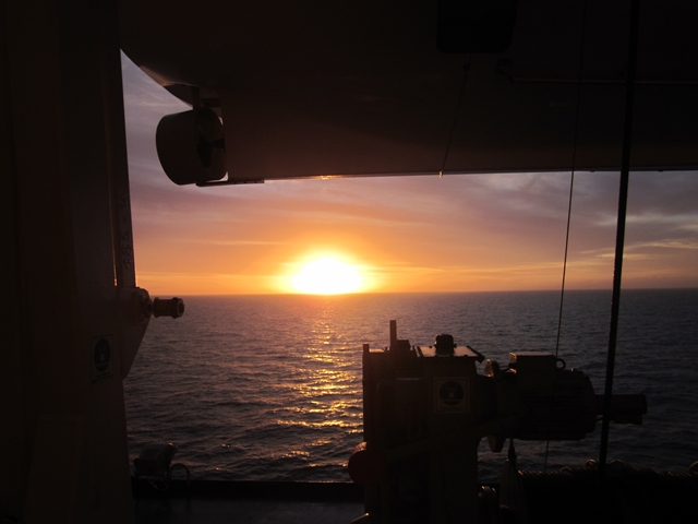 0415 Ferry Sunset