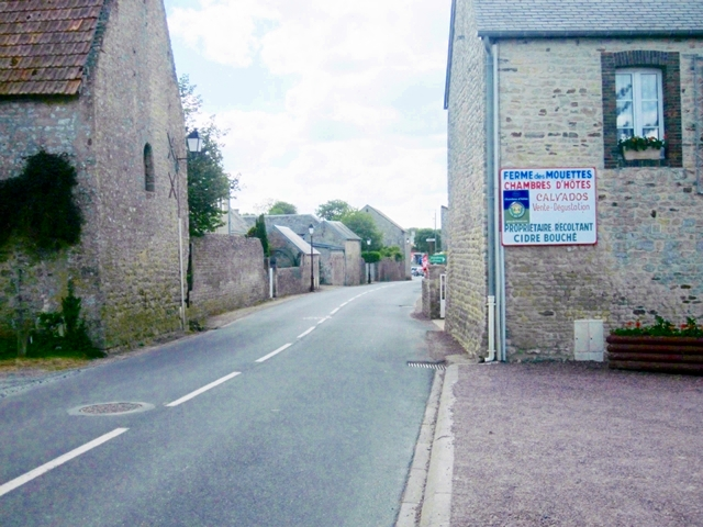 0850 Typical Normandy Village