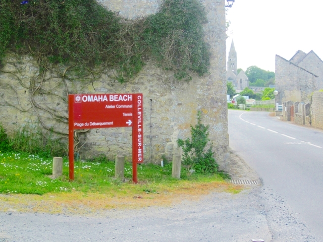 0860 Typical Normandy Sign