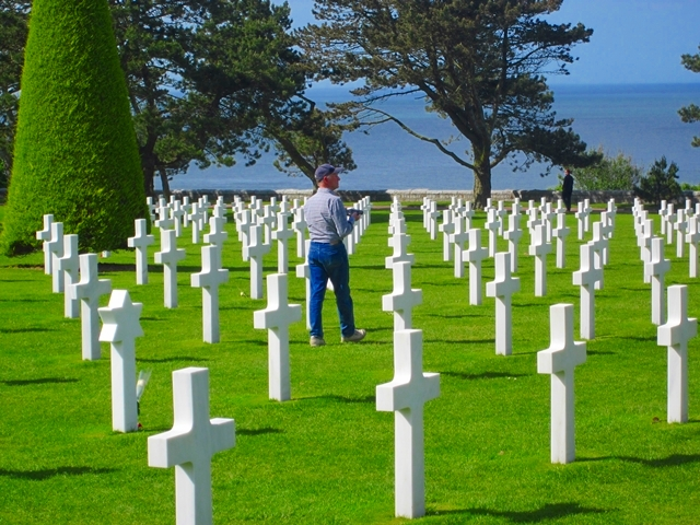 0920 Am Cemetary Omaha Beach