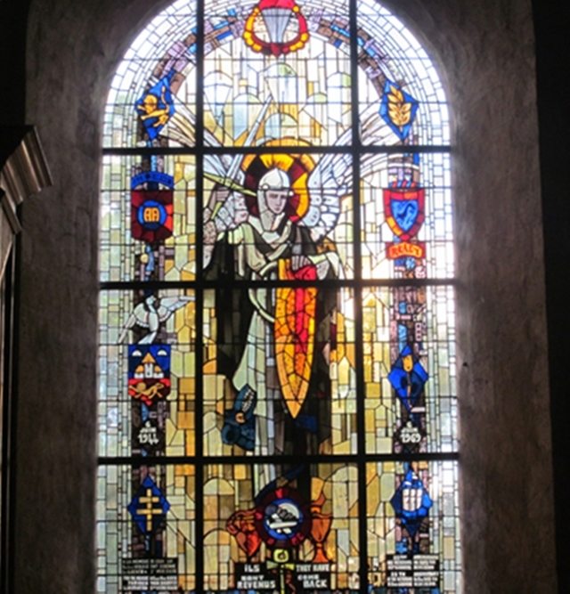 1330 Ste Mere Eglise Window