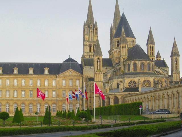 1960 Caen L'Abbaye aux Hommes