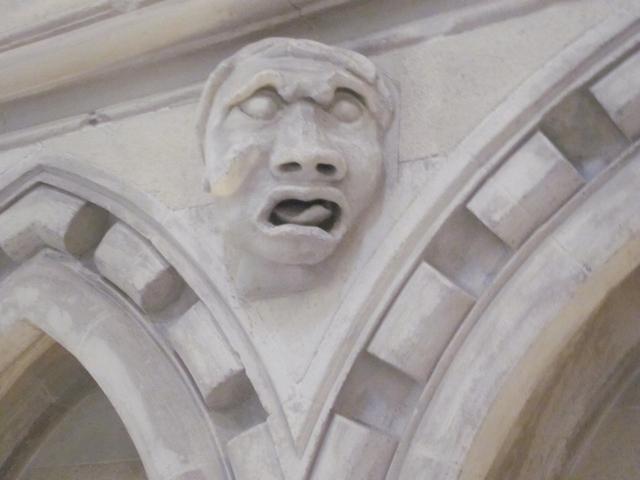3170 Temple Church Gargoyle