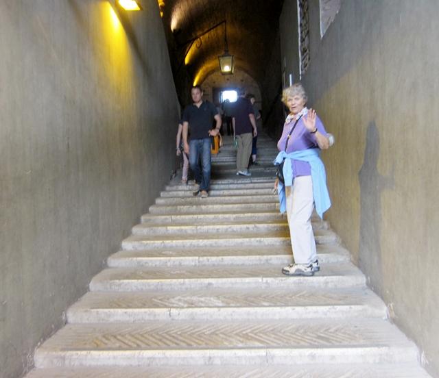 0585 Fort Sant Angelo Stairway