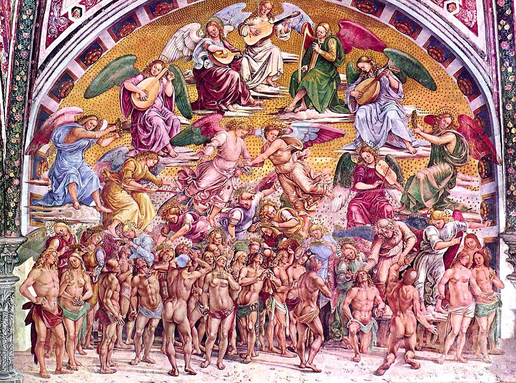 0695 Orvieto Duomo Fresco 1