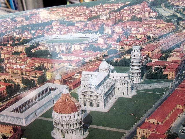 1290 Pisa Duomo Aerial 2