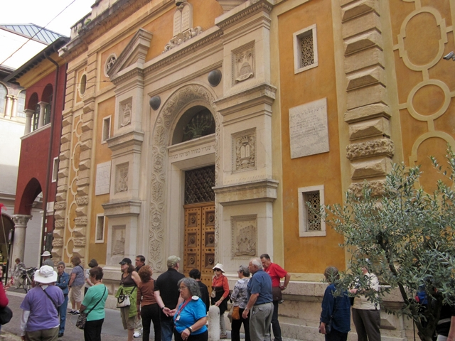 1654 Verona Ghetto Temple