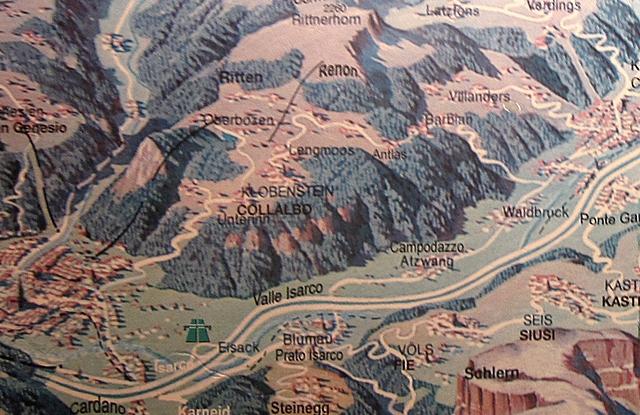 1750 Bolzamo Map