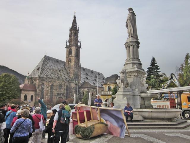 1790 Bolzamo Duomo and Walther