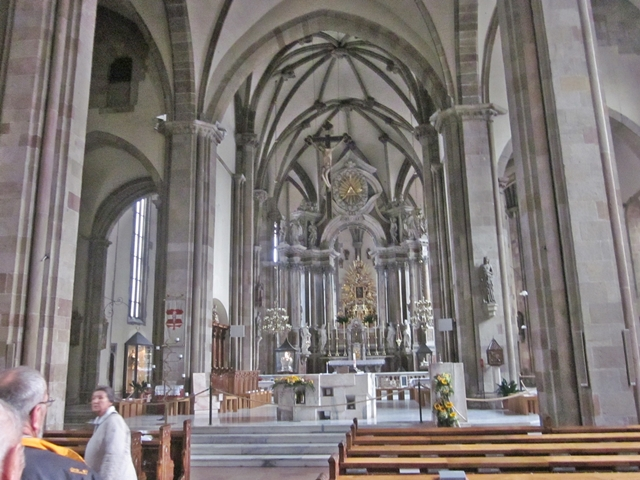 1795 Bolzamo Duomo Interior