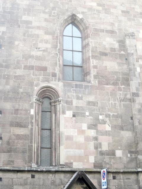 1805 Bolzamo Duomo Windows