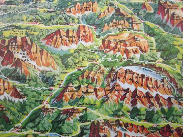 3127 Dolomite Peaks Map