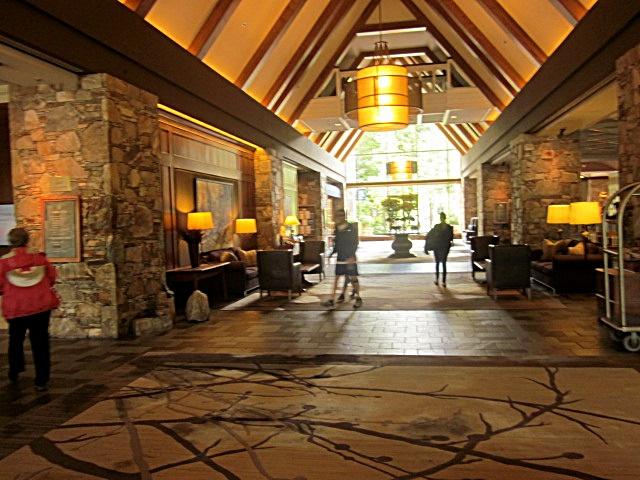 6085 Whistler Fairmont Lobby