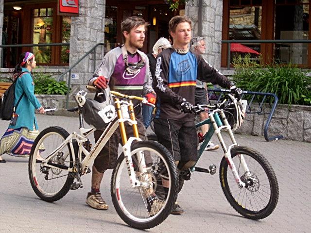 7000 Whistler Stroll Bikers